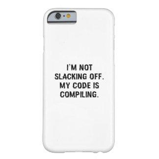 Capa Barely There Para iPhone 6 Meu código está compilando