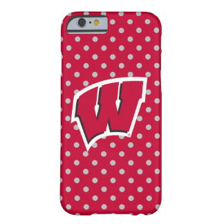 Capa Barely There Para iPhone 6 Mini bolinhas de Wisconsin |