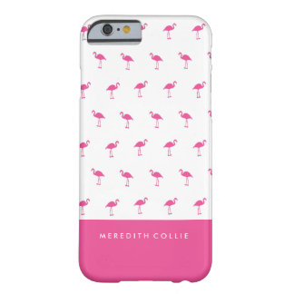 Capa Barely There Para iPhone 6 Mini flamingo cor-de-rosa personalizado