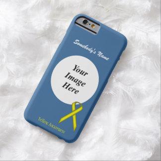 Capa Barely There Para iPhone 6 Modelo padrão amarelo da fita por Kenneth Yoncich