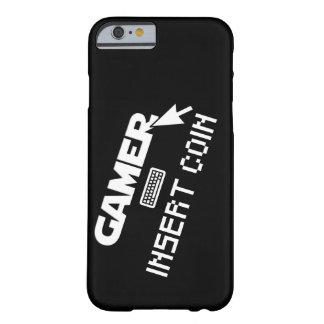 Capa Barely There Para iPhone 6 Moeda da inserção do Gamer