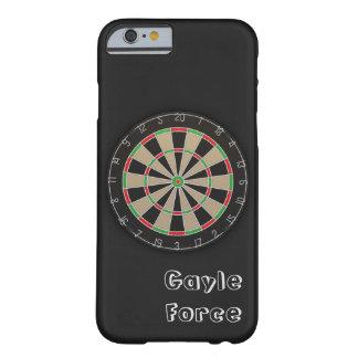 Capa Barely There Para iPhone 6 Monograma conhecido do Dartboard
