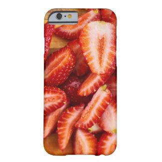 Capa Barely There Para iPhone 6 Morango deliciosa