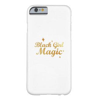 Capa Barely There Para iPhone 6 Mulher forte da rainha africana mágica preta da