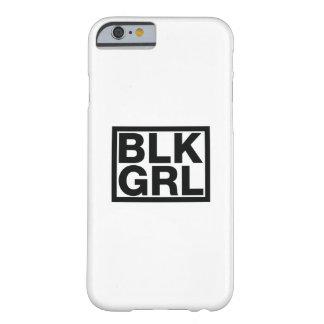 Capa Barely There Para iPhone 6 Mulheres pretas fortes da mulher s da menina