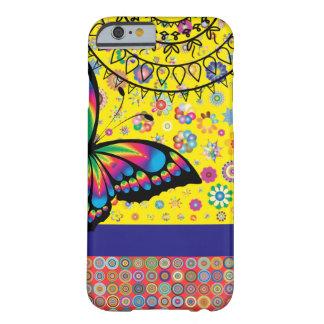 Capa Barely There Para iPhone 6 Mundo colorido