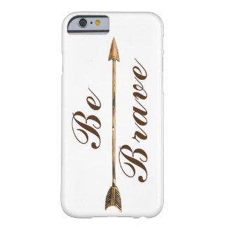 Capa Barely There Para iPhone 6 Na moda seja seta brava de Boho do ouro