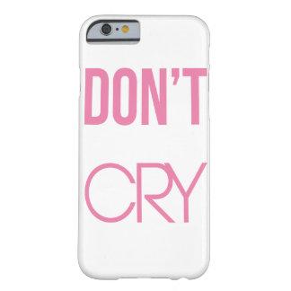 Capa Barely There Para iPhone 6 não grita o caso