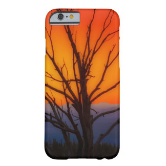 Capa Barely There Para iPhone 6 Nascer do sol sobre o design do parque nacional de
