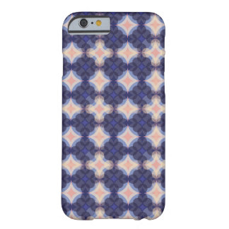 Capa Barely There Para iPhone 6 Navy Kaleidoscope Pattern