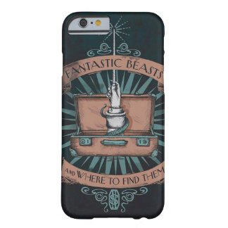 Capa Barely There Para iPhone 6 Newt Scamander