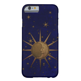 Capa Barely There Para iPhone 6 Noite estrelado da lua celestial de Sun