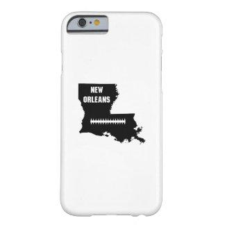 Capa Barely There Para iPhone 6 Nova Orleães Louisiana NENHUM futebol do mapa do
