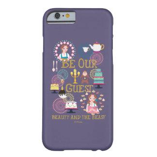 Capa Barely There Para iPhone 6 O Belle | seja nossa nossa Convidado-Beleza e o