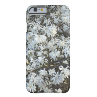 Capa Barely There Para iPhone 6 O branco floresce PhoneCase