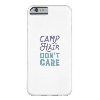 Capa Barely There Para iPhone 6 O cabelo do acampamento não se importa