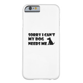 Capa Barely There Para iPhone 6 O cão que de filhote de cachorro o amor engraçado
