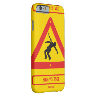 Capa Barely There Para iPhone 6 O caso de Smartphone olha como o sinal de alta