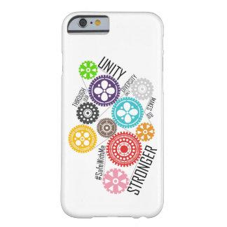 Capa Barely There Para iPhone 6 O cofre forte comigo iPhone & Samsung das rodas