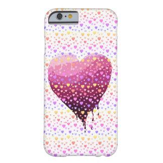 Capa Barely There Para iPhone 6 O coração dos namorados