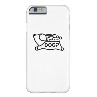 Capa Barely There Para iPhone 6 O Corgi persegue o cão de filhote de cachorro do