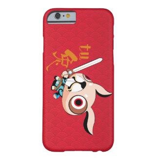 Capa Barely There Para iPhone 6 O design do estilo chinês por o ano de coelho