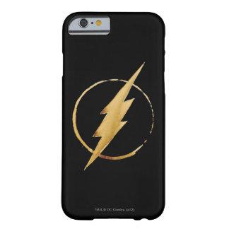 Capa Barely There Para iPhone 6 O emblema | amarelo instantâneo da caixa