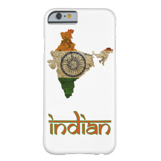 Capa Barely There Para iPhone 6 O exemplo indiano do telemóvel da bandeira
