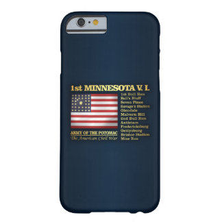 Capa Barely There Para iPhone 6 ø Infantaria voluntária de Minnesota (BH)