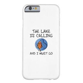 Capa Barely There Para iPhone 6 O lago está chamando