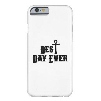 Capa Barely There Para iPhone 6 O melhor presente sempre cristão da páscoa do dia