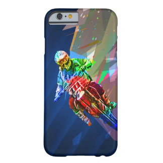 Capa Barely There Para iPhone 6 O pastel super coloriu a bicicleta da sujeira que