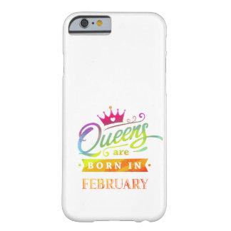 Capa Barely There Para iPhone 6 O Queens é em fevereiro presente de aniversário