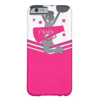 Capa Barely There Para iPhone 6 O rosa quente & o branco Stars partido