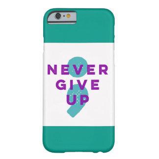 Capa Barely There Para iPhone 6 O Semicolon do projeto nunca dá acima a prevenção