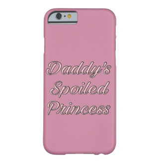 Capa Barely There Para iPhone 6 O spoI do pai conduziu a princesa