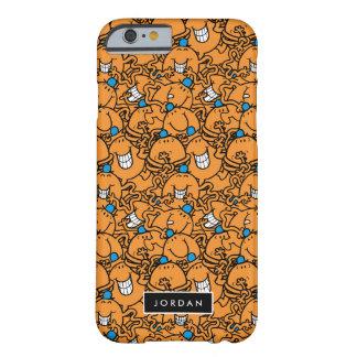Capa Barely There Para iPhone 6 O teste padrão alaranjado | das cócegas do Sr.