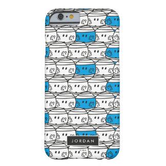 Capa Barely There Para iPhone 6 O teste padrão azul | do Sr. Colisão | adiciona