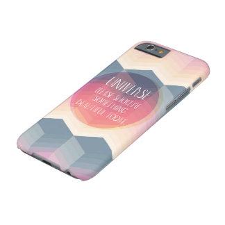 Capa Barely There Para iPhone 6 O universo mostra-me algo caso bonito de hoje