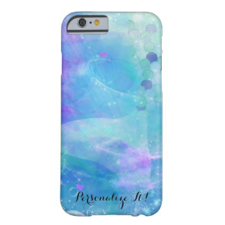 Capa Barely There Para iPhone 6 Oceano Enchanted fantasia da cauda da sereia da