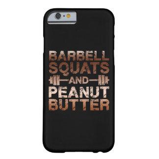 Capa Barely There Para iPhone 6 Ocupas e manteiga de amendoim - motivação de