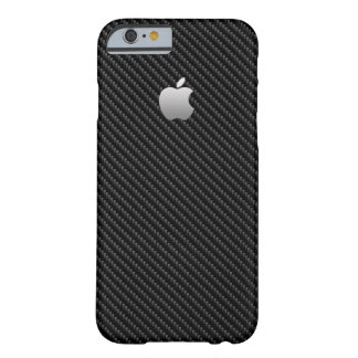 Capa Barely There Para iPhone 6 OLHAR da FIBRA do CARBONO, ARGUMENTO PARA IPHONE