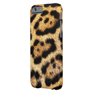 Capa Barely There Para iPhone 6 Olhar da pele do leopardo