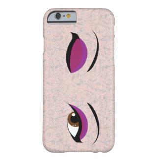 Capa Barely There Para iPhone 6 Olhos de fascinação do piscar os olhos - loja de