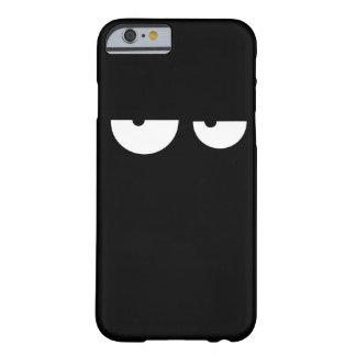 Capa Barely There Para iPhone 6 Olhos legal engraçados dos desenhos animados