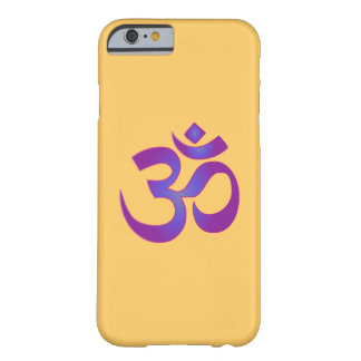 Capa Barely There Para iPhone 6 OM símbolo cor-de-rosa e roxo de Aum do zen da
