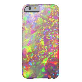 Capa Barely There Para iPhone 6 Opal do brasileiro do arco-íris de Falln