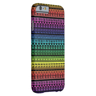 Capa Barely There Para iPhone 6 Ornamento colorido do arco-íris