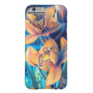 Capa Barely There Para iPhone 6 Orquídea do ouro da beleza