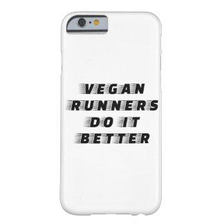 Capa Barely There Para iPhone 6 Os corredores do Vegan melhora